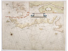 MOUNT, W. / PAGE, T. -  The Sea Coasts of France from Ushent to Olone.