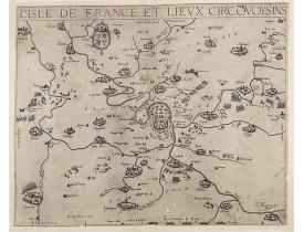 BOUGUEREAU, M. / LECLERC, J. -  L'Isle de France et lieux circonvoisins.
