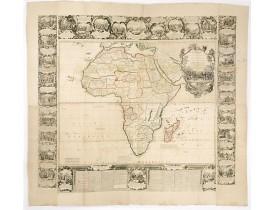 NOLIN, Jean-Baptiste / Jean-Baptiste NOLIN II. -  L'Afrique Dressée Sur les Relationes les Plus Recentes et Rectifiées sur les Dernieres Observations. . .