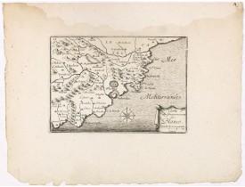 BEAULIEU, Sébastien de PONTAULT de. -  Carte du Gouvernement de Blanes.