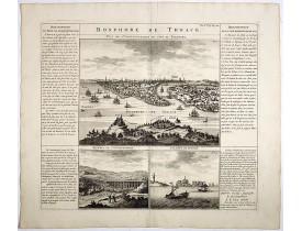 CHATELAIN, H. -  Bosphore de Thrace.