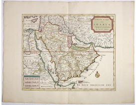 TIRION, I. -  Nieuwe kaart van Arabia.