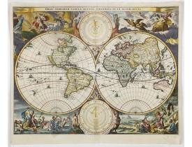 STOOPENDAEL, D. - Orbis Terrarum Tabula recens emendata et in Lucem edita.