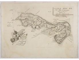 CORONELLI, V.M. -  Isola del Re Nel Mare di Guascogna. . .