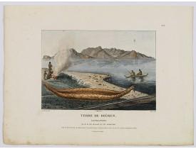 LESUEUR, C-A. / PERON, F. -  Terre de Diemen. Navigation. [plate XIV].