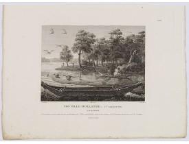 LESUEUR, C-A. / PERON, F. -  Nouvelle-Hollande: Nouvelle Galles du Sud. Navigation. [plate XXIII].