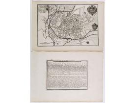 DE FER, N. -  Plan de ville et des Fauxbourgs de Bourges . . .