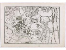 DE FER, N. -  Plan general des chateaux et ville de St Germain en Laye.