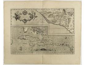 ORTELIUS, A. -  Culiacanae Americae regionis.. / Hispaniolae, Cubae..