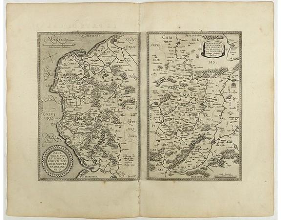 ORTELIUS, A. -  1) Caletensivm et Bononiensivm..2) Veromandvorvm eorvmque..