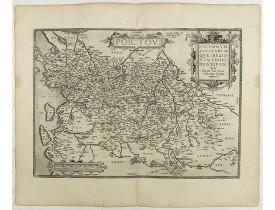 ORTELIUS, A. -  Poictou. Pictonum Vicinarum que Regionum Fidiss Descriptio.