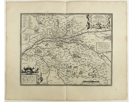 ORTELIUS, A. -  Touraine. Turonensis Ducatus.