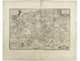 ORTELIUS, A. -  Lorraine.  Lotharingiae nova descriptio.
