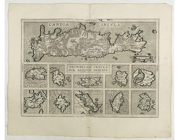 ORTELIUS, A. -  Archipelagi Insularum Aliquot Descrip.