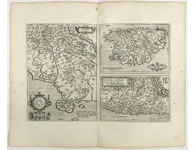 ORTELIUS, A. -  Senensis ditionis, . . . / Corsica / Marcha Anconae . .