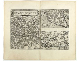 ORTELIUS, A. -  Carinthiae et Goritiae .. / Histria / Zarae / Serebenici. . .