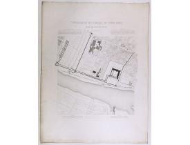 BERTY, A. -  Topographie historique du vieux Paris / Plan de restitution Feuille V.