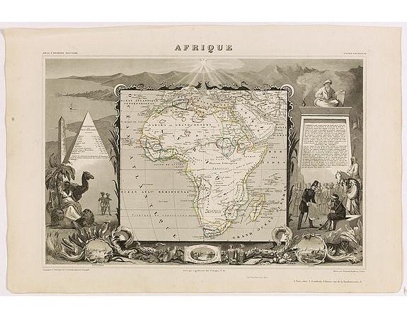 LEVASSEUR, V. -  Afrique.