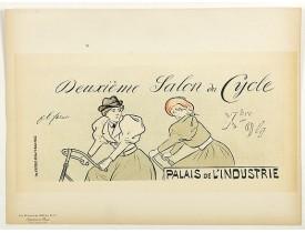 LES MAITRES DE L'AFFICHE. - Lexeme Salon du Cycle.