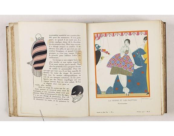LEVY, E. / VOGEL, L. -  Gazette du Bon Ton  Art - Modes Frivolités. (1912/1913).