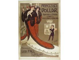 CLERICE FRERES -  Princesses Dollar, opérette en 3 actes.