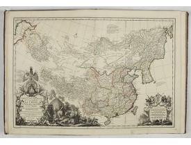 DU HALDE, J. B. -  Nouvel atlas de la Chine, de la Tartarie chinoise, et du Thibet.