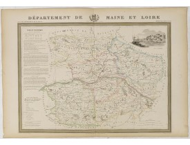 DONNET et MONIN. -  Département de Maine et Loire.