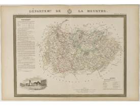 DONNET et MONIN. -  Département de la Meurthe.
