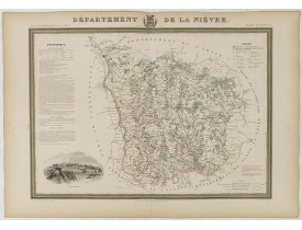 DONNET et MONIN. -  Département de La Nièvre.