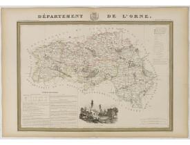 DONNET et MONIN. -  Département de l'Orne.