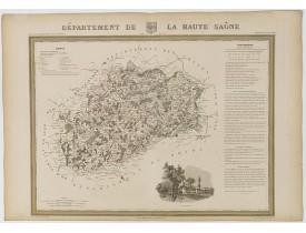 DONNET et MONIN. -  Département de la Haute Saône.