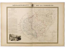DONNET et MONIN. -  Département de Corrèze.