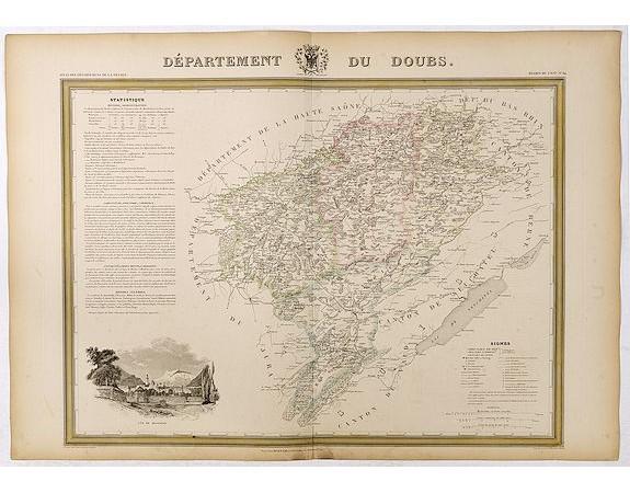 DONNET et MONIN. -  Département de Doubs.