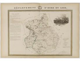 DONNET et MONIN. -  Département d'Eure-et-Loir.