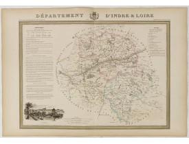 DONNET et MONIN. -  Département de l'Indre et Loire.