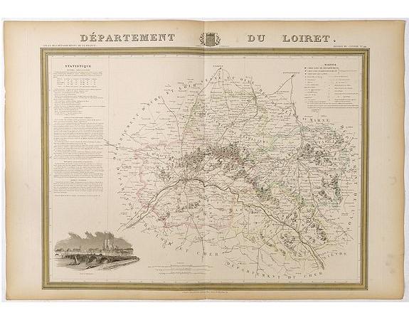 DONNET et MONIN. -  Département du Loiret.