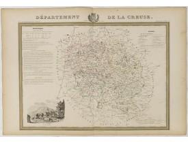 DONNET et MONIN. -  Département de la Creuse.