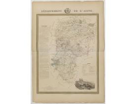 DONNET et MONIN. -  Département de l'Aisne.
