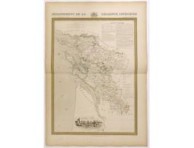 DONNET and MONIN. -  Département de la Charente inférieure.