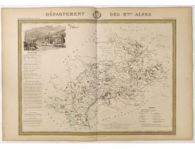 DONNET et MONIN. -  Département des Htes Alpes.
