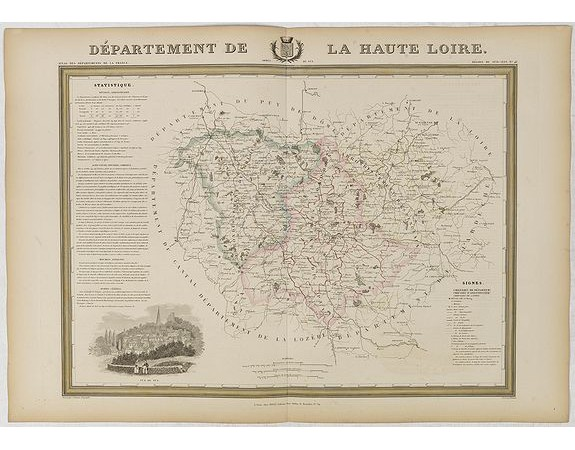 DONNET et MONIN. -  Département de la Haute Loire.