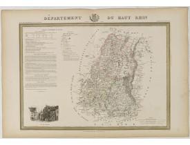 DONNET et MONIN. -  Département du Bas Rhin.