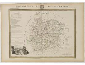 DONNET et MONIN. -  Département de Lot et Garonne.