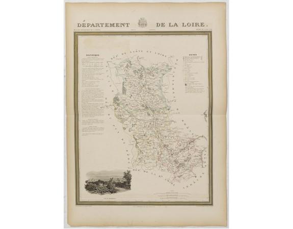 DONNET et MONIN. -  Département de la Loire.