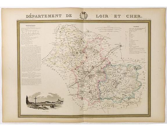 DONNET et MONIN. -  Département de Loir et Cher.
