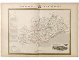 DONNET et MONIN. -  Département de l'Hérault.