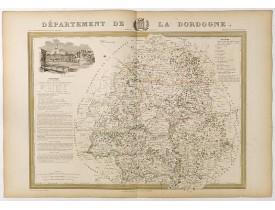 DONNET et MONIN. -  Département de la Dordogne.