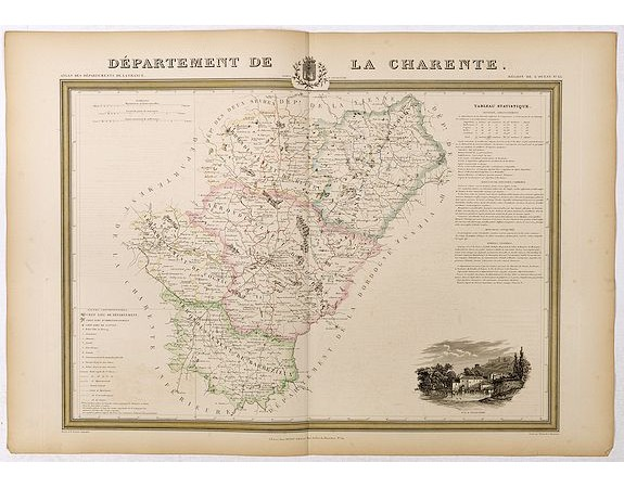 DONNET et MONIN. -  Département de la Charente.