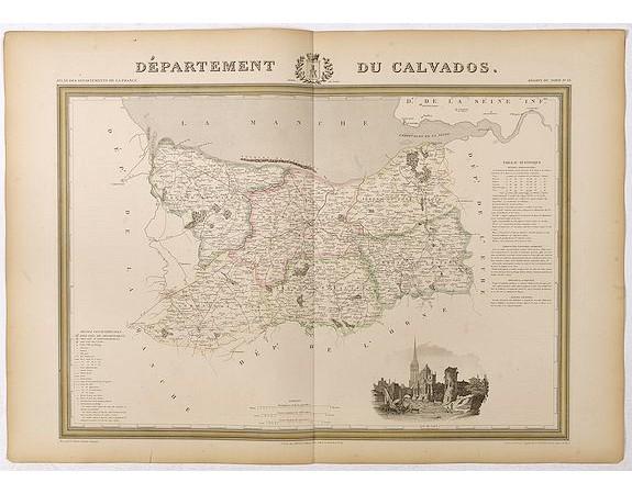 DONNET et MONIN. -  Département du Calvados.