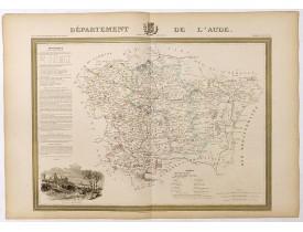 DONNET et MONIN. -  Département de l'Aude.